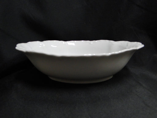 "Hutschenreuther Racine, White: Oval Serving Bowl, 10"" x 7 3/4"", Selb"