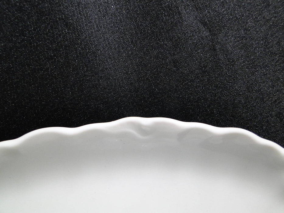 Hutschenreuther Racine, White: Gravy Boat w/ Attached Underplate, 1814