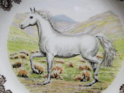 "Spode Woodland Horses Arabian, England: NEW Dinner Plate, 10 3/4"", Box"
