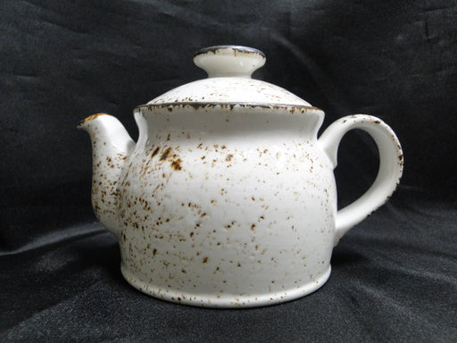 "Steelite Performance Craft, England: NEW White Teapot Club w/ Lid, 4 1/2"", 15 oz"