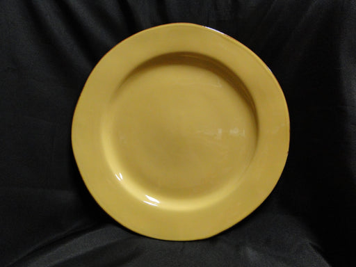 "Vietri Cucina Fresca (Italy), Pottery: Saffron & Sage Dinner Plate, 12"", As Is"