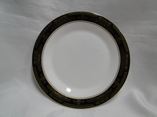 Royal Doulton Albany H5041, Black Rim: Bread Plate (s), 6 5/8""