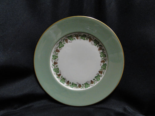 Franciscan Concord, Green Rim, Grape Vine: Salad Plate (s), 8 3/8""