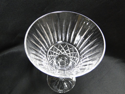 Waterford Crystal Maeve Vertical & Criss Cross: Water or Wine Goblet 6 7/8""