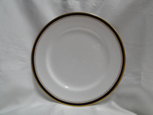 Spode Knightsbridge Cobalt, Blue Band & Gold on White: Dinner Plate (s), 10 3/4""