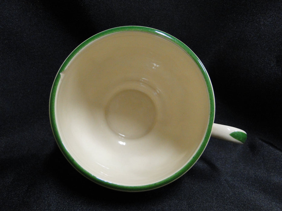"Franciscan Ivy (USA), Green: 2 5/8"" Tall Cup Only, No Saucer, As Is"