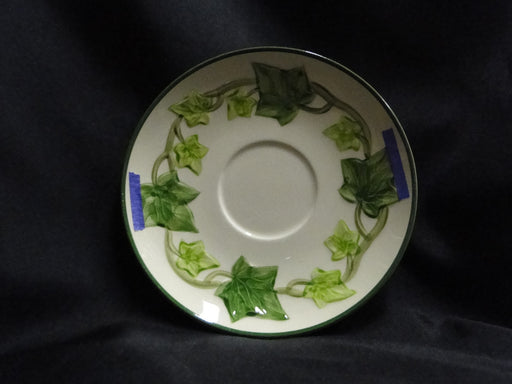 "Franciscan Ivy (USA), Green: 6 3/8"" Saucer (s) Only, As Is"