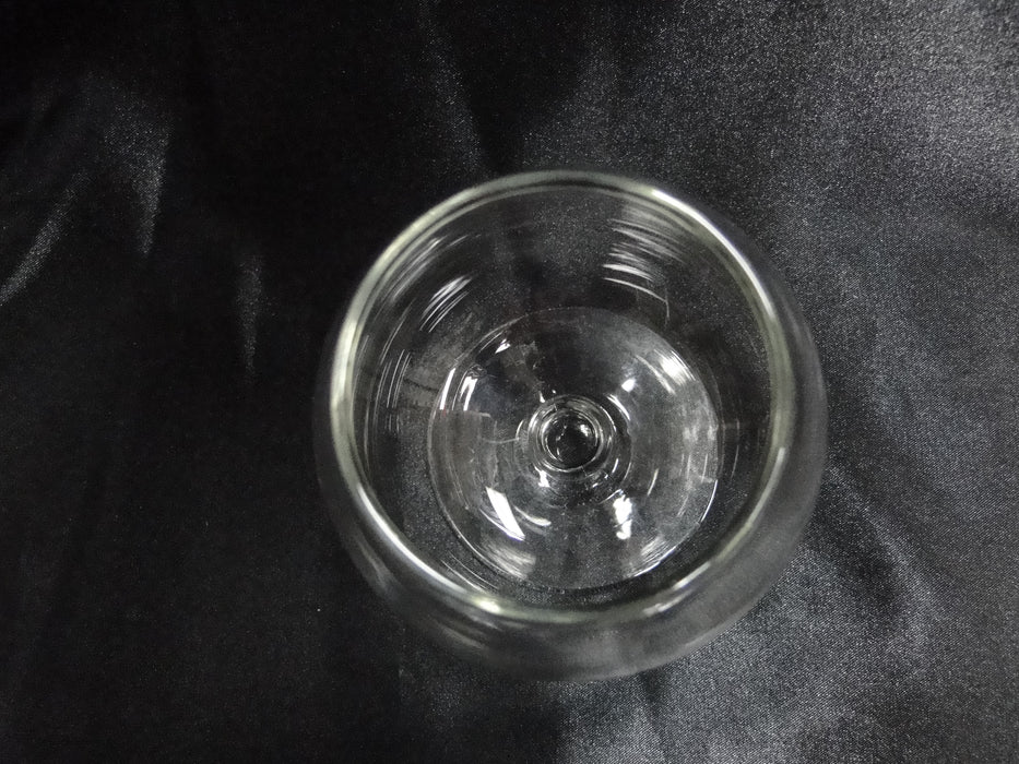 "Brandy Snifter (s), 4 5/8"" Tall, Clear, No Trim -- CR#018"