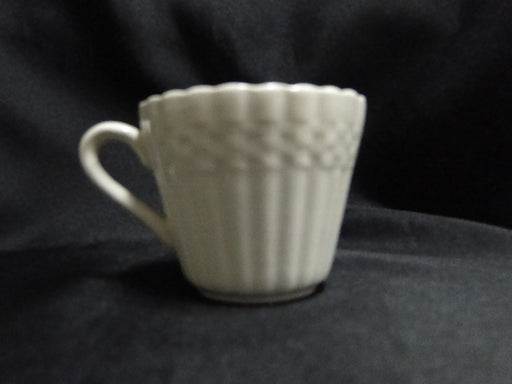 Spode Chelsea Wicker, Embossed Basketweave: Demitasse Cup & Saucer Set, 2 1/8""