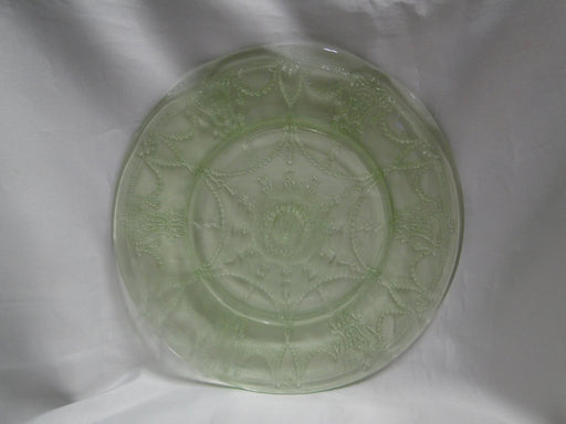 Anchor Hocking Cameo Green, Ballerina, Vaseline: Dinner Plate (s), 9 3/8""