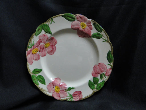 "Franciscan Desert Rose, USA:  Luncheon Plate, 9 1/2"", Spots"