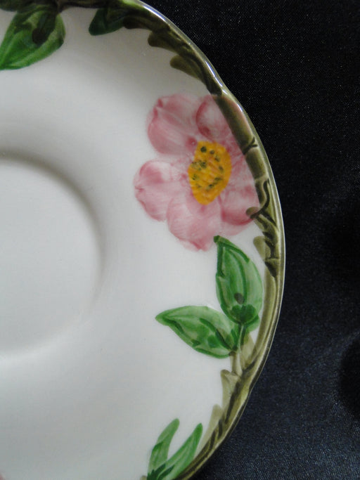 "Franciscan Desert Rose, USA:  5 3/4"" Saucer (s) Only, No Cup"