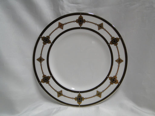 Lenox Vintage Jewel, Gold & Black Border: Accent Luncheon Plate (s), 9 1/4""