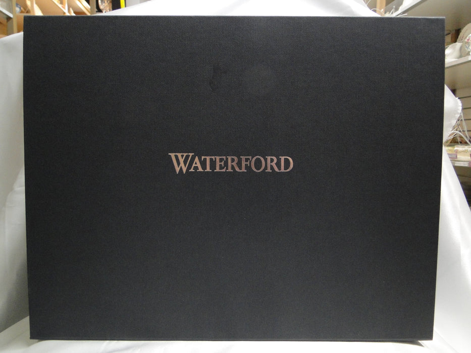 "Waterford Crystal Lismore Black: NEW Pair Martini's, 7 1/8"", 7.4 oz, Box, FREE SHIP, FREE WRAP"