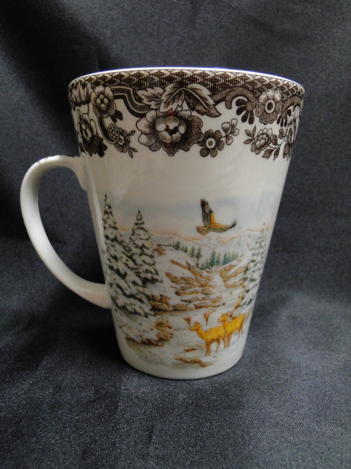 "Spode Woodland Winter Scenes Elk: NEW Beverage Mug (s), 4 5/8"", 11 oz, Box"