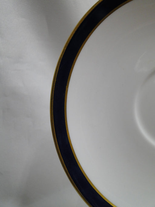 "Spode Consul Cobalt, Blue Band & Gold on White: 5 3/4"" Saucer Only, No Cup"