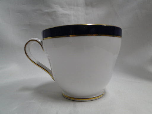 Spode Consul Cobalt, Blue Band & Gold on White: Cup & Saucer Set (s), 2 3/4""