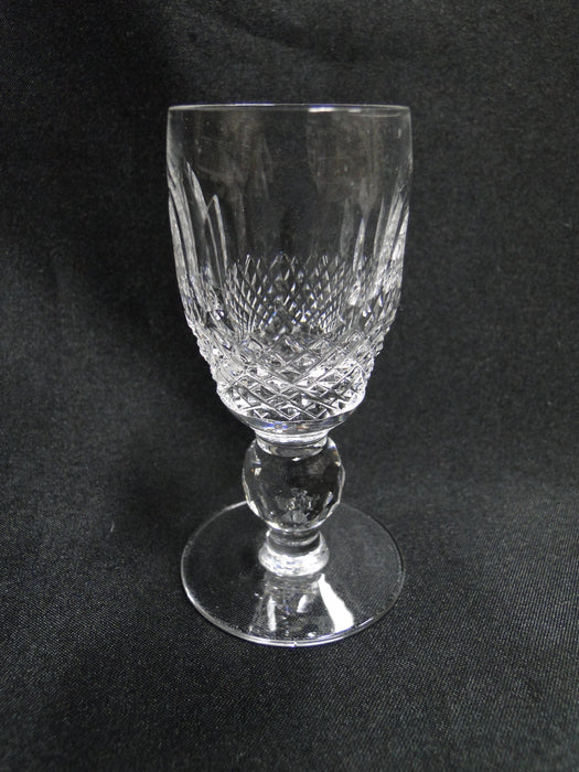 "Waterford Crystal Colleen, Short Stem, Thumbprints: Cordial (s). 3 1/4"" Tall"