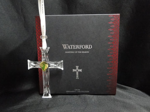 Waterford Crystal Ornament: NEW Cross Ornament, Box, FREE SHIP, FREE WRAP