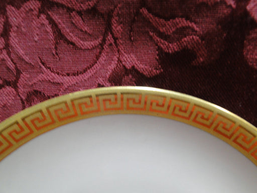 Royal Worcester Athena, Beige, Gold Greek Key: Bread Plate (s), 6""