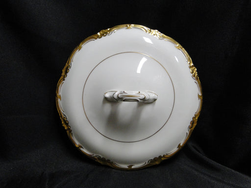 Royal Cauldon Eden, Thick Gold Trim, Scalloped: Lid Only for Serving Bowl