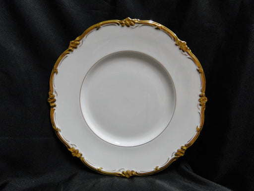 Royal Cauldon Eden, Thick Gold Trim, Scalloped: Dinner Plate (s), 10 3/4""