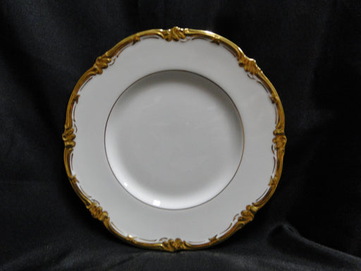 Royal Cauldon Eden, Thick Gold Trim, Scalloped: Salad Plate (s), 8 1/8""