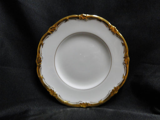 Royal Cauldon Eden, Thick Gold Trim, Scalloped: Bread Plate (s), 6 3/8""