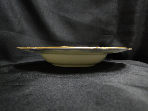 Royal Cauldon Eden, Thick Gold Trim, Scalloped: Rim Soup Bowl (s), 8 1/8""
