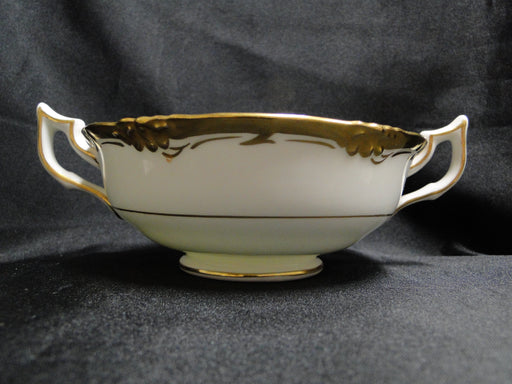 Royal Cauldon Eden, Thick Gold Trim, Scalloped: Cream Soup & Saucer Set (s)