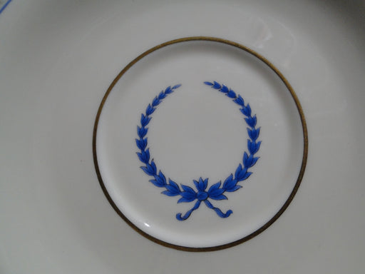 "Rosenthal Empire, Blue Wreath, Ivory: 6 1/4"" Saucer Only, No Cup"