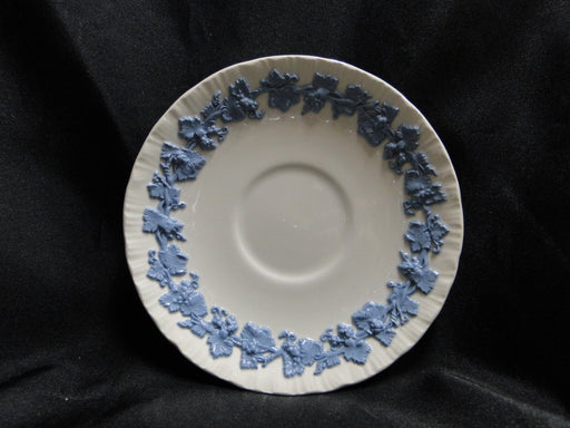 "Wedgwood Queensware Lavender / Blue on Cream, Shell: 5 3/4"" Saucer Only"