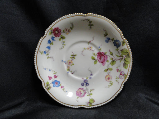 "Castleton Sunnyvale, Multicolored Flowers: 6 3/4"" Cream Soup Saucer Only"