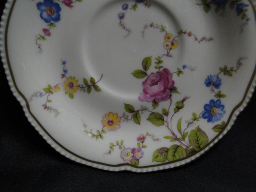 "Castleton Sunnyvale, Multicolored Flowers: 6 1/8"" Saucer Only, No Cup"