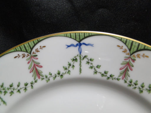 Raynaud Ceralene Festivites, Green Garland: Luncheon Plate (s), 8 3/4""