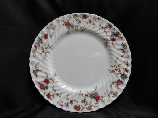 Minton Ancestral, Red & Blue Flowers: Dinner Plate (s), 10 3/4""