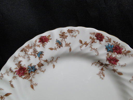 Minton Ancestral, Red & Blue Flowers: Salad Plate (s), 7 7/8""