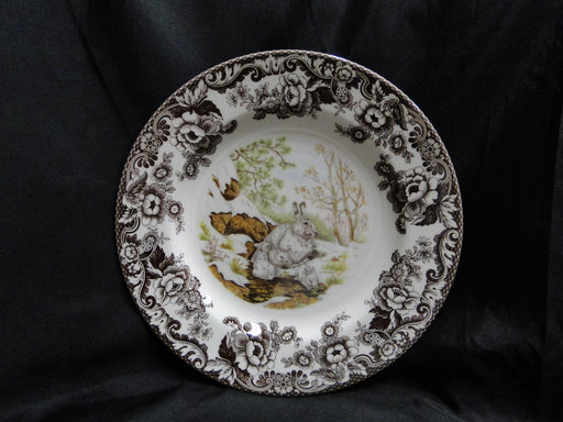 "Spode Woodland Winter Scenes Snowshoe Rabbit: NEW Dinner Plate (s), 10 3/4"", Box"