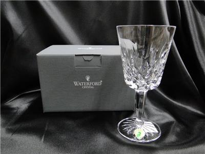 "Waterford Crystal Lismore: NEW Water Goblet (s), 6 7/8"", 10 oz, Box, FREE SHIP, FREE WRAP"