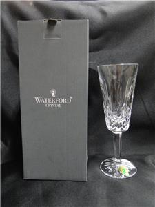 "Waterford Crystal Lismore: NEW Champagne Flute (s), 7 1/4"", 4 oz, Box, FREE SHIP, FREE WRAP"