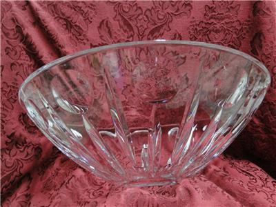 "Waterford Crystal Sun, Moon, Stars: Centerpiece Moon Bowl, 13"",  As Is"