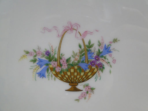 Rosenthal Rokoko, Flower Basket, Ribbons: Square Serving Bowl, 11""