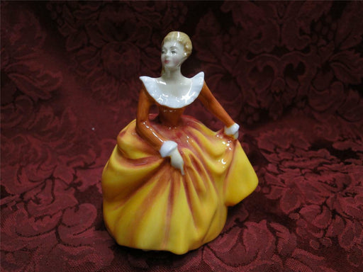 "Royal Doulton Figurine, ""Fragrance"", HN3220, Miniature, 4"" tall"
