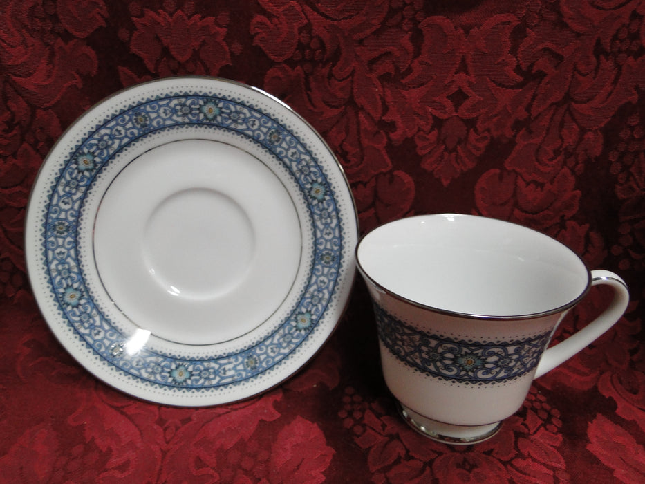 Royal Worcester Dunrobin, Purple Pink Gold: Cup & Saucer Set (s)
