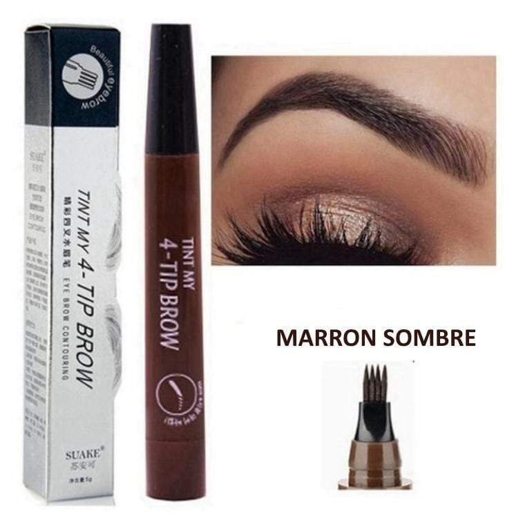 LA BOUTIQUE CHOU Marron sombre MAGIC EYEBROW - EDITION DELUXE
