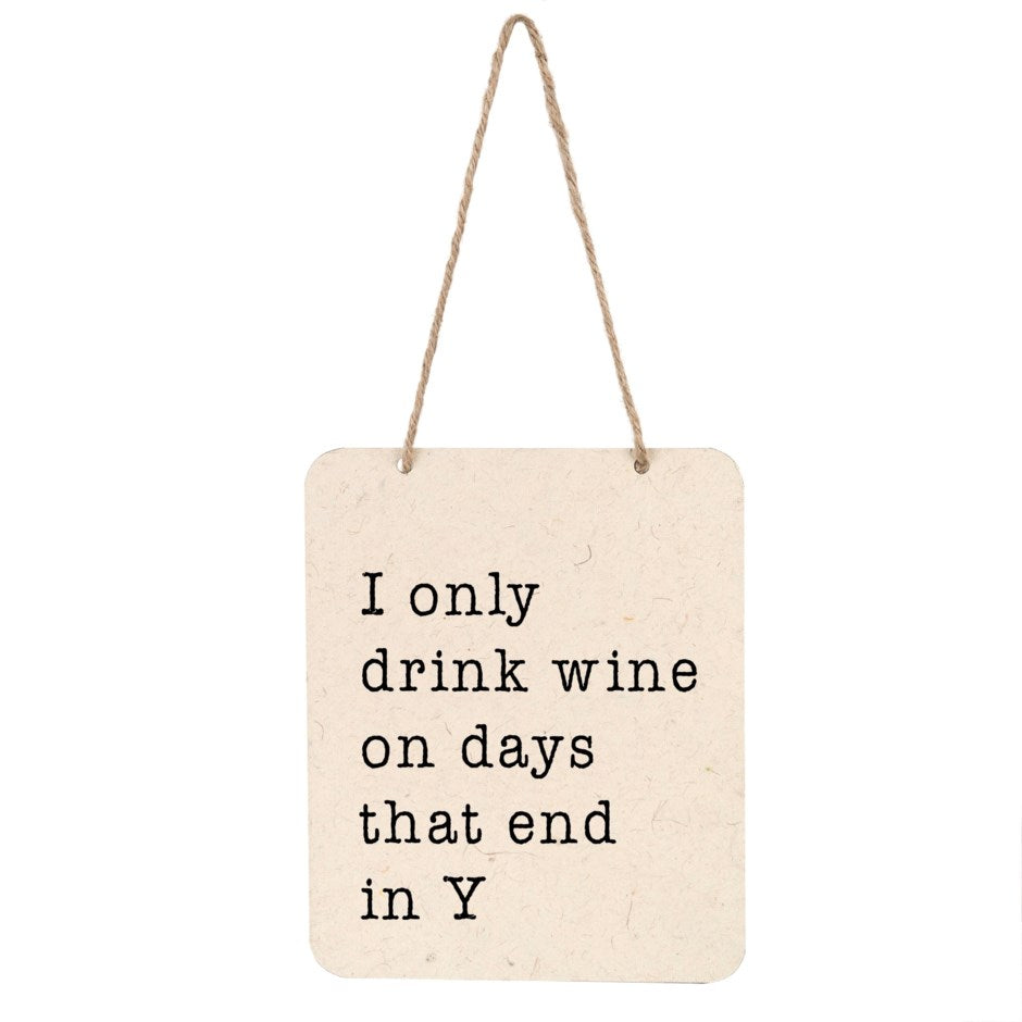 Drink Wine | Sign