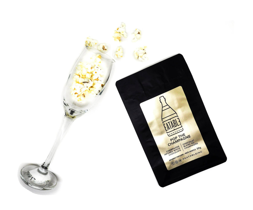 """Pop the Champagne"" Popcorn 