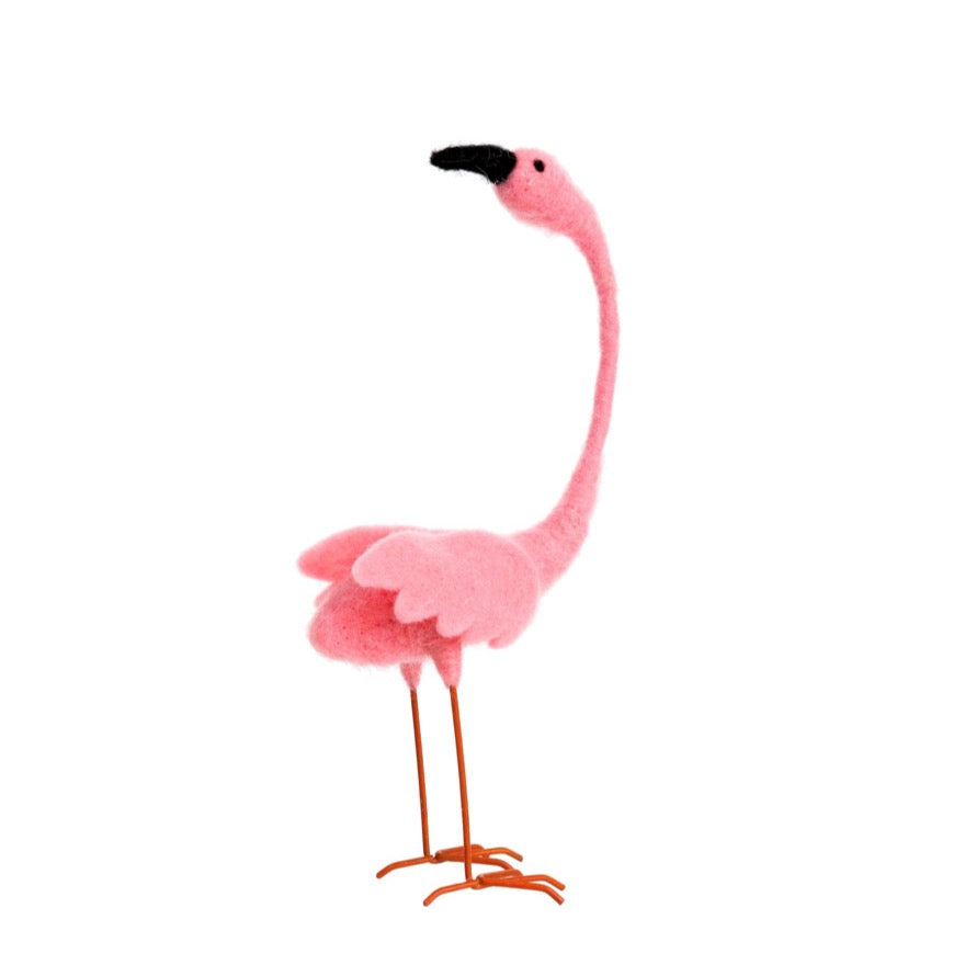 Felted Flamingo | Small