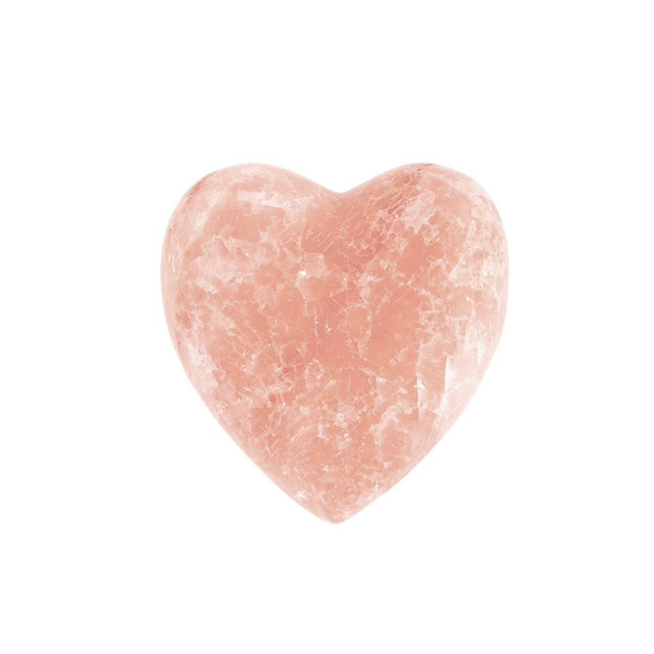 Himalayan Salt Rock Heart | Pink