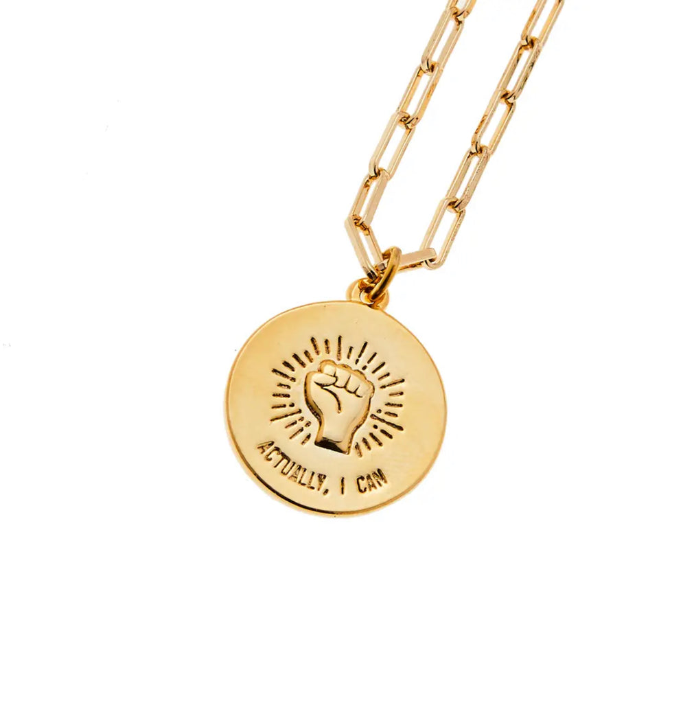 Fearless Female | Gold Necklace